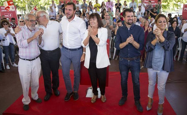Presentación de la candidatura de Óscar Puente a la alcaldía de Valladolid