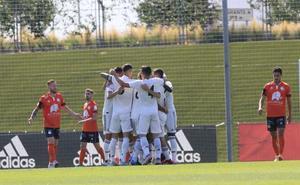 El Madrid Castilla de Vinicius amplía la resaca copera de Unionistas a la Liga