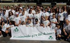 Marcha por el alzhéimer en Salamanca
