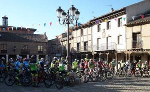 El ciclismo ensalza la villa romana de La Olmeda