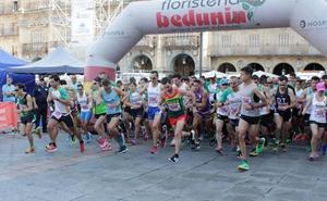 Iván Roade y Gema Martín ganan la III Carrera contra la violencia de género en Salamanca