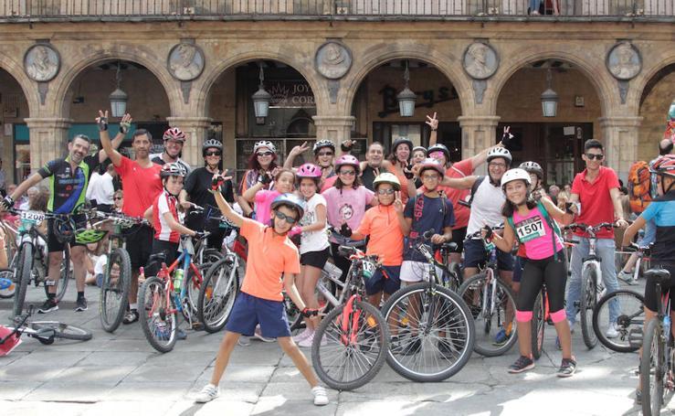 Los salmantinos apuestan por la bici en la Semana de la Movilidad