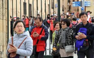El turismo chino crece en Segovia un 13,5%