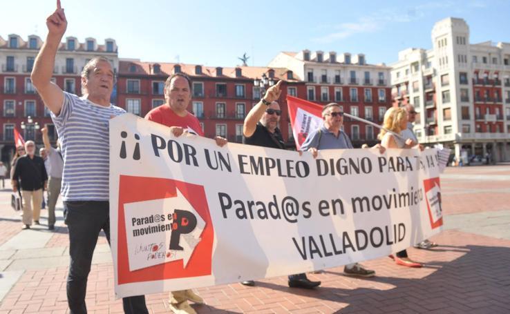 Manifestación en Valladolid en defensa del sistema público de pensiones