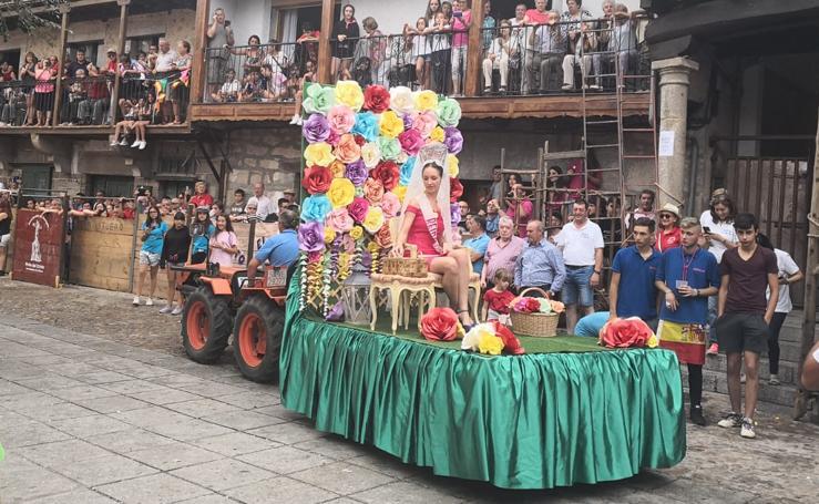San Esteban de la Sierra despide sus fiestas a lo grande