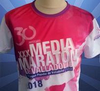 La Media Maratón de Valladolid celebra sus 30 años con una camiseta ultraligera