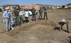 Presentación del yacimiento romano de Huerta Varona hallado en Aguilar de Campoo