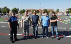 El Ayuntamiento de Carbajosa inaugura el circuito de seguridad vial