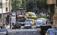 Cuatro heridos, uno de ellos un ciclista, en otros tantos accidentes Salamanca
