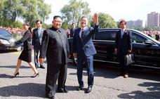 Los líderes de las dos Coreas celebran su primera reunión en Pionyang