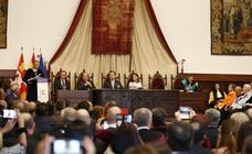 Felipe VI preside la Asamblea de la Charta Magna Universitatum en Salamanca