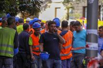 Las imágenes tras el derrumbe en el hotel Ritz de Madrid