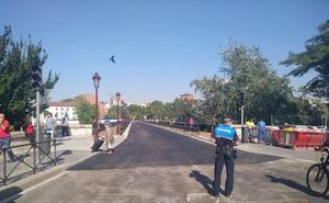 Reabiertos el Puente Mayor e Isabel La Católica en Valladolid después de cuatro meses de obras