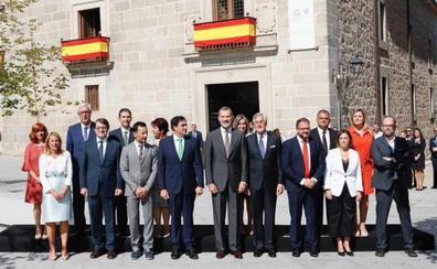 Ávila recibe con entusiasmo al Rey Felipe VI