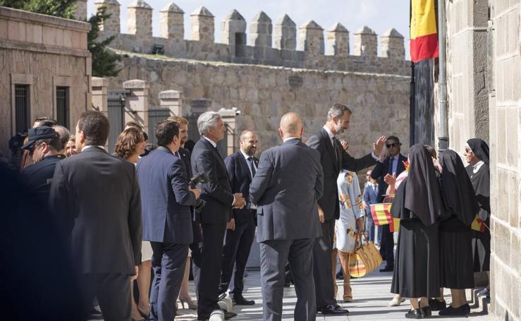 El Rey Felipe VI visita Ávila