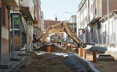 Las obras en la calle María La Brava concluirán a principios de 2019