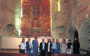 Finaliza la restauración de los contrafuertes de Santa María en Cervera