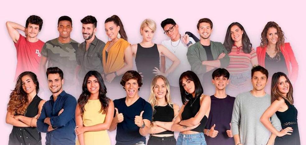 Así son los 16 concursantes de OT 2018