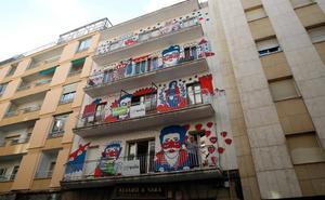 ZOES inaugura una nueva intervención artística en un edificio del barrio del Oeste