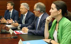 Pedro Palomo es reelegido como presidente de la Cámara de Comercio