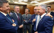 Nombramiento de Pedro Palomo como presidente de la Cámara de Comercio