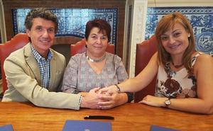 Prórroga de los convenios con los vecinos de Santa Eulalia y Puente Hierro