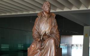 La estatua 'Partitura' inmortalizará en Ávila a Tomás Luis de Victoria