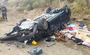 Fallece una persona en la salida de vía de un turismo en la AP-66 a su paso por Barrios de Luna