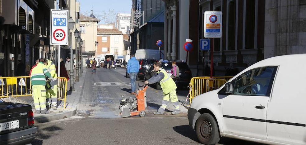 El plan de mejora de calles de Palencia contará este año con 350.000 euros