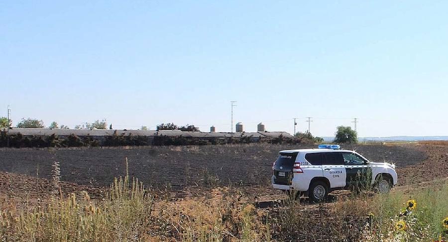 Un vehículo averiado causó el incendio de Veganzones en el que murieron 337 animales