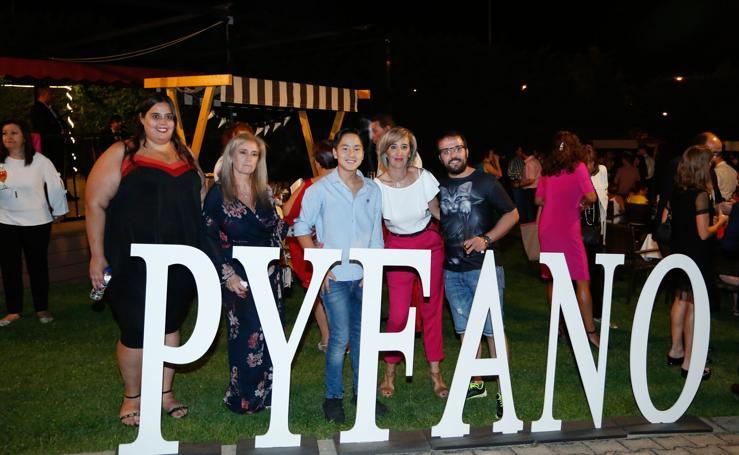 Salamanca se vuelca con la cena benéfica en favor de Pyfano