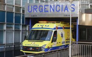 Trasladado al Virgen de la Vega tras sufrir un accidente de tráfico en la A-62