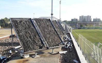 Destrozan los paneles solares de la Finca Canterac de Valladolid para robar cobre