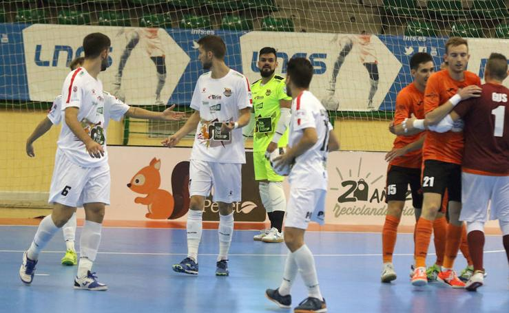 Estrepitosa derrota de Naturpellet Segovia ante Ribera Navarra 0-7