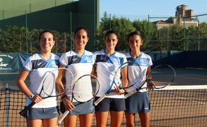 El Tenis Alba de Tormes femenino gana en la primera jornada del Nacional de clubes