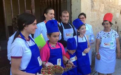 Un equipo de La Granja gana el Concurso Infantil de Tartas Provincia de Segovia