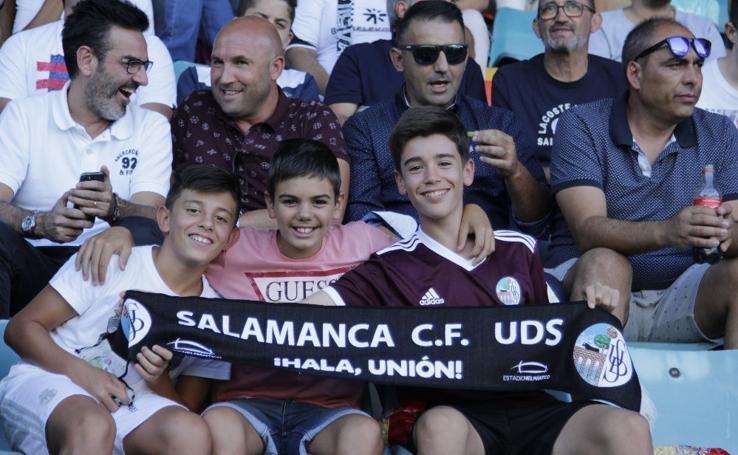 El CD Guijuelo se lleva el derbi ante el Salamanca CF UDS (2/2)