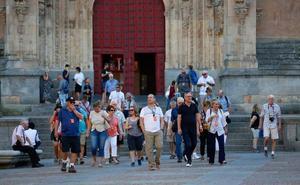 Salamanca aún lidera el turismo regional pese al frenazo registrado en agosto