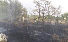 Los bomberos actúan en dos fuegos en la provincia de Salamanca