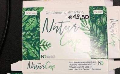 Sanidad retira el complemento alimenticio 'Natur Cap Cápsulas' por contener principios de Viagra