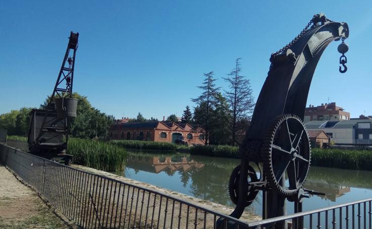 Una mañana en la ribera del Canal de Castilla a su paso por Valladolid