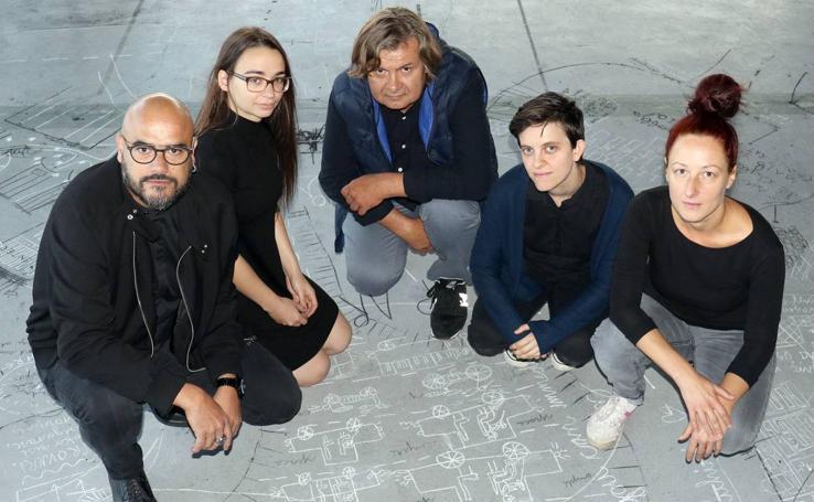 Los cinco artistas seleccionados por CreArt Valladolid presentan sus proyectos en el LAVA