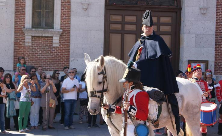 El Duque de Wellington regresa a Boecillo