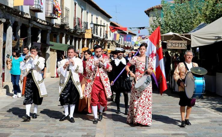Ampudia celebra una vistosa fiesta barroca