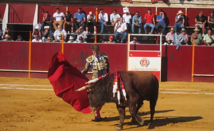 Escribano y Marcos, grandes triunfadores en la corrida de toros de Mayorga
