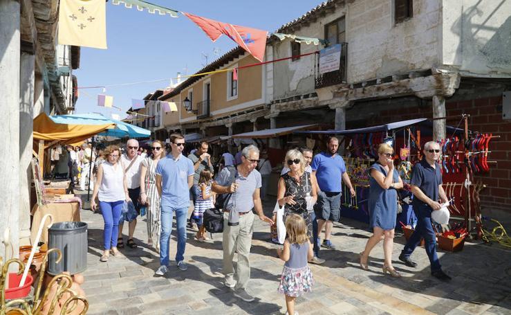 Mercado castellano en Ampudia