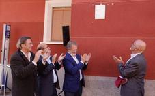 Las viviendas de la obra del Hogar Nacional-Sindicalista de Delicias reciben la placa DOCOMOMO