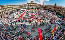 La mejor fotografía de La Vuelta a España 2018 se hizo en Salamanca