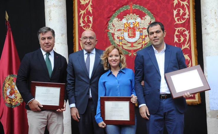 Entrega de los Premios de Periodismo Provincia de Valladolid 2017