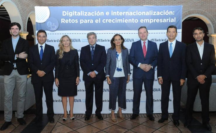 Desayuno informativo sobre 'Digitalización e internacionalización' organizado por El Norte y BBVA